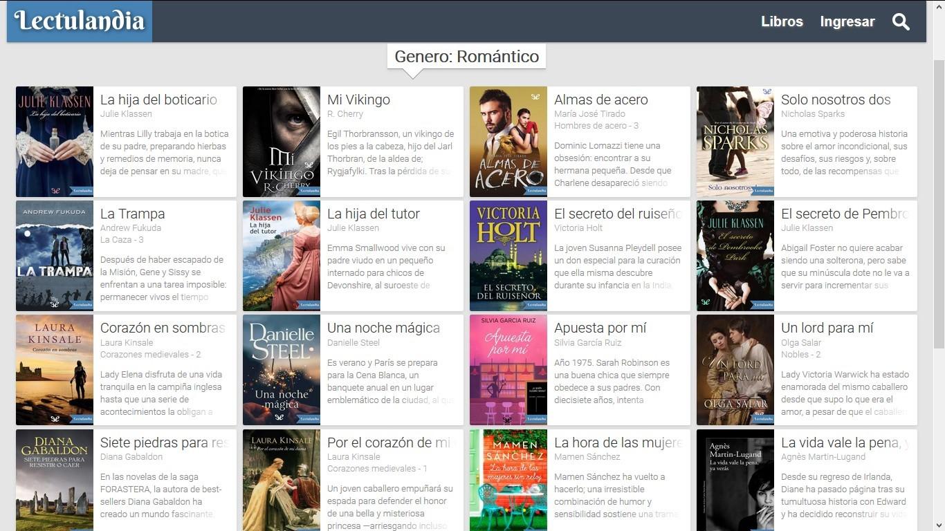 descargar novelas romanticas gratis para ebook
