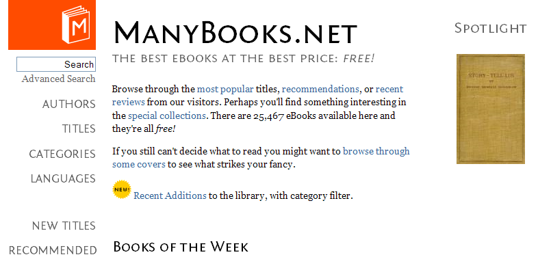 Ventajas de manybooks.net