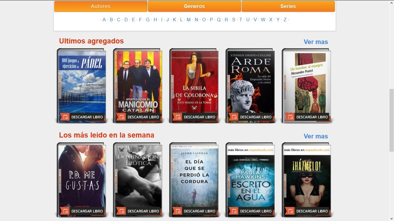 bajar libros espaebook gratis