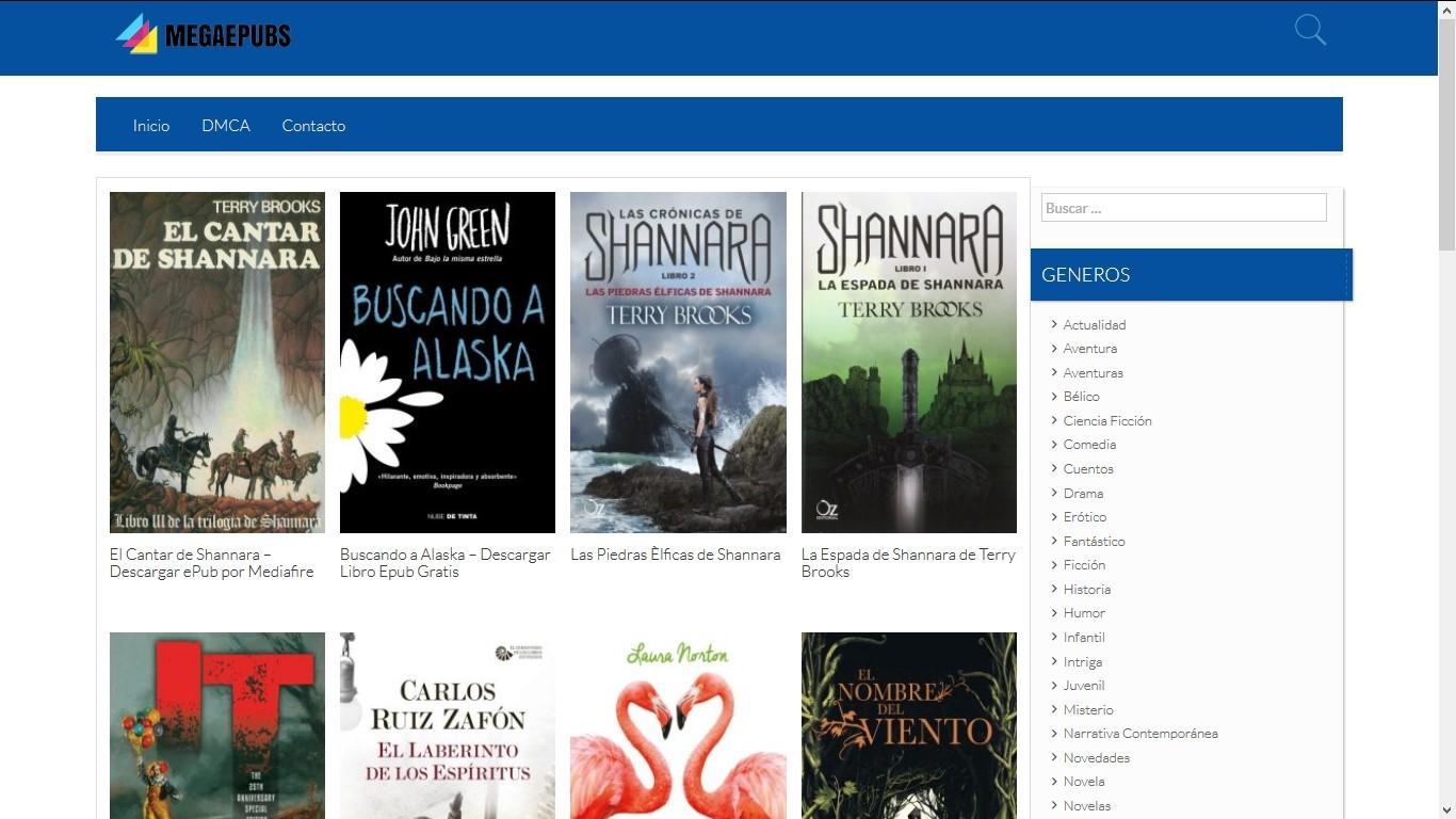 descargar libros megaepub gratis