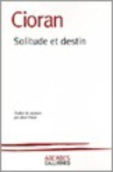 Leer SOLITUDE ET DESTIN online gratis pdf 1