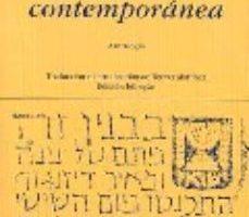 ver POESIA HEBREA CONTEMPORANEA: ANTOLOGIA online pdf gratis