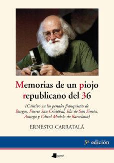 ver MEMORIAS DE UN PIOJO REPUBLICANO online pdf gratis