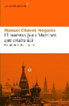 Leer EL MAESTRO JUAN MARTINEZ QUE ESTABA ALLI online gratis pdf 1