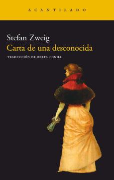 Leer CARTA DE UNA DESCONOCIDA online gratis pdf 1