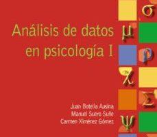 leer ANALISIS DE DATOS EN PSICOLOGIA I gratis online