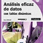 leer ANALISIS EFICAZ DE DATOS: CON TABLAS DINAMICAS gratis online