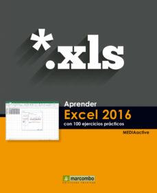 leer APRENDER EXCEL 2016 CON 100 EJERCICIOS PRACTICOS gratis online