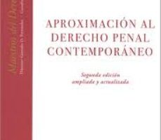 leer APROXIMACION AL DERECHO PENAL CONTEMPORANEO gratis online