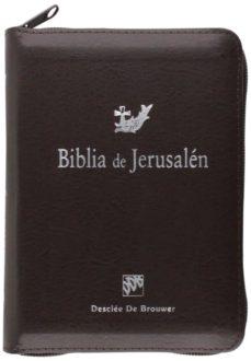 leer BIBLIA DE JERUSALEN DE BOLSILLO CON CREMALLERA gratis online