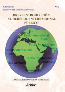 leer BREVE INTRODUCCION AL DERECHO INTERNACIONAL PUBLICO gratis online