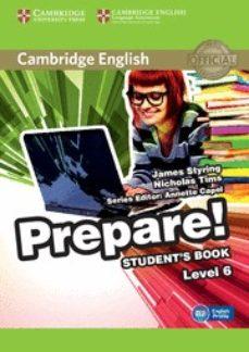 leer CAMBRIDGE ENGLISH PREPARE! 6 STUDENT S BOOK gratis online