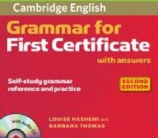 leer CAMBRIDGE GRAMMAR FOR FIRST CERTIFICATE WITH ANSWERS AND AUDIO CD gratis online