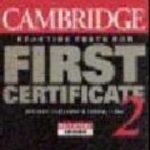 leer CAMBRIDGE PRACTICE TESTS FOR FIRST CERTIFICATE: SELF-STUDY BOOK: BK.2 gratis online