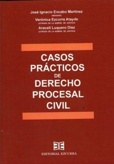 leer CASOS PRACTICOS DE DERECHO PROCESAL CIVIL gratis online