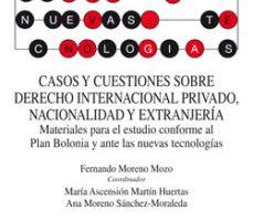 leer CASOS Y CUESTIONES SOBRE DERECHO INTERNACIONAL PRIVADO