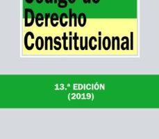 leer CODIGO DE DERECHO CONSTITUCIONAL gratis online