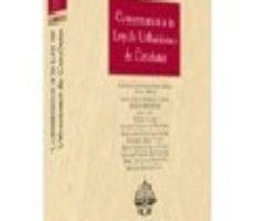 leer COMENTARIOS A LA LEY DE URBANISMO DE CATALUÑA gratis online