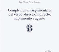 leer COMPLEMENTOS ARGUMENTALES DEL VERBO: DIRECTO