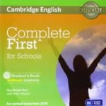 leer COMPLETE FIRST FOR SCHOOLS FOR SPANISH SPEAKERS STUDENT S PACK WITHOUT ANSWERS (STUDENT S BOOK WITH CD-ROM