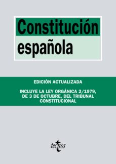 leer CONSTITUCION ESPAÑOLA: INCLUYELA LEY ORGANICA DEL TRIBUNAL CONSTITUCIONAL gratis online