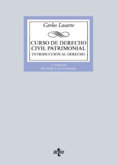 leer CURSO DE DERECHO CIVIL PATRIMONIAL : INTRODUCCION AL DERECHO gratis online