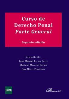 leer CURSO DE DERECHO PENAL: PARTE GENERAL gratis online