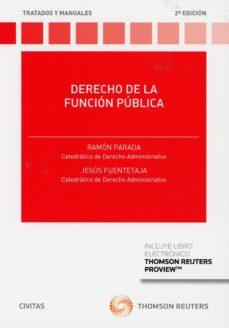 leer DERECHO DE LA FUNCION PUBLICA gratis online