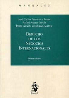 leer DERECHO DE LOS NEGOCIOS INTERNACIONALES gratis online