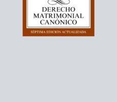 leer DERECHO MATRIMONIAL CANONICO gratis online