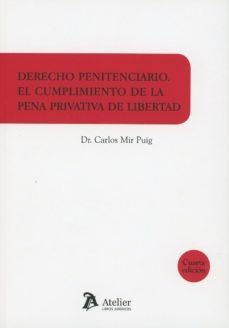 leer DERECHO PENITENCIARIO 2018 EL CUMPLIMIENTO DE LA PENA PRIVATIVA D E LIBERTAD gratis online