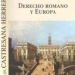 leer DERECHO ROMANO Y EUROPA gratis online