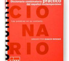 leer DICCIONARIO COMBINATORIO PRACTICO DE ESPAÑOL CONTEMPORANEO gratis online