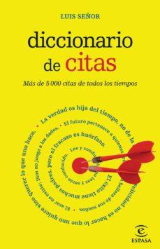 leer DICCIONARIO DE CITAS gratis online