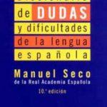 leer DICCIONARIO DE DUDAS Y DIFICULTADES DE LA LENGUA ESPAÃ'OLA gratis online