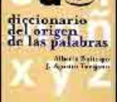 leer DICCIONARIO DEL ORIGEN DE LAS PALABRAS gratis online