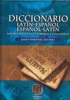 leer DICCIONARIO LATIN-ESPAÑOL