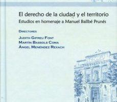 leer EL DERECHO DE LA CIUDAD Y EL TERRITORIO gratis online
