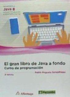 leer EL GRAN LIBRO DE JAVA A FONDO: CURSO DE PROGRAMACION gratis online