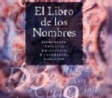 leer EL LIBRO DE LOS NOMBRES: SIGNIFICADO