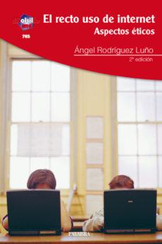 leer EL RECTO USO DE INTERNET: ASPECTOS ETICOS gratis online