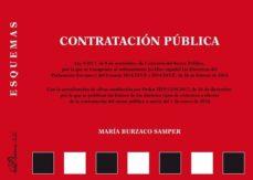 leer ESQUEMAS CONTRATACION PUBLICA 2018 gratis online