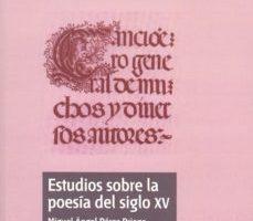 leer ESTUDIOS SOBRE LA POESIA DEL SIGLO XV gratis online
