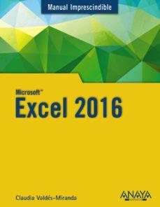 leer EXCEL 2016 gratis online