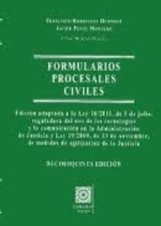 leer FORMULARIOS PROCESALES CIVILES gratis online