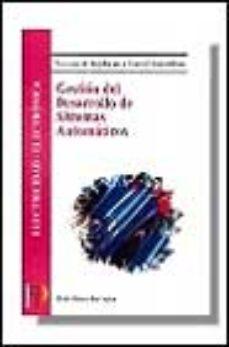 leer GESTION DEL DESARROLLO DE SISTEMAS AUTOMATICOS: SISTEMAS DE REGUL ACION Y CONTROL AUTOMATICO gratis online