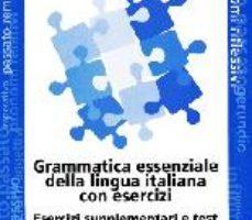 leer GRAMMATICA ESSENZIALE DELLA LINGUA ITALIANA gratis online