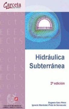 leer HIDRAULICA SUBTERRANEA gratis online
