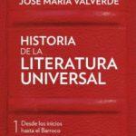 leer HISTORIA DE LA LITERATURA UNIVERSAL I gratis online