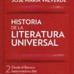 leer HISTORIA DE LA LITERATURA UNIVERSAL II gratis online